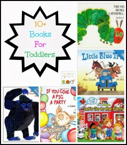 10+ Books For Toddlers by FSPDT