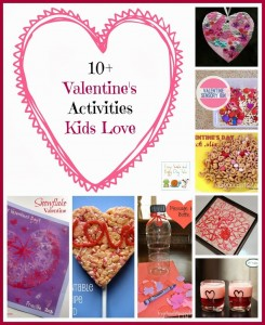 10+ Valentine Things Kids Love