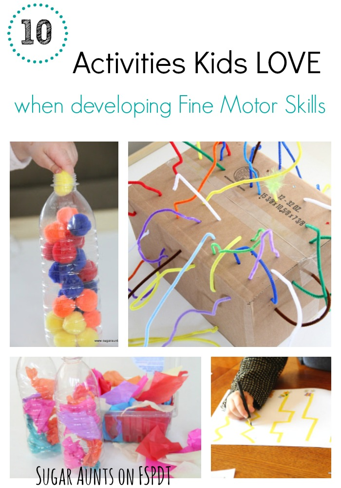 10 activities kids love when working on fine motor skills