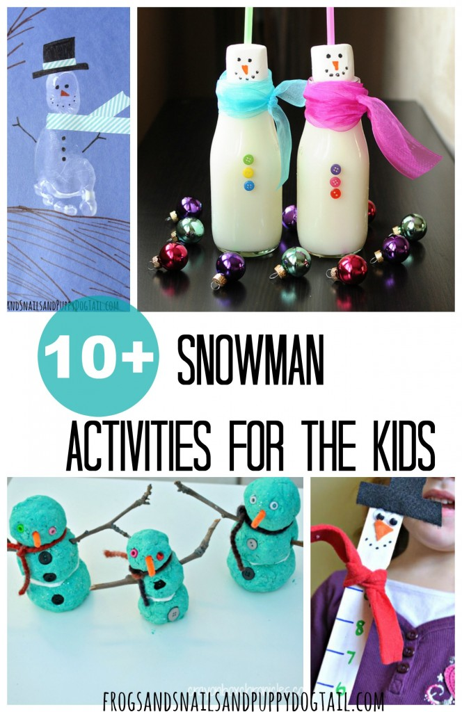 10+ Snowman Activities for Kids