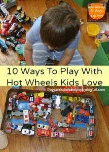 10 ways to play with hot wheels