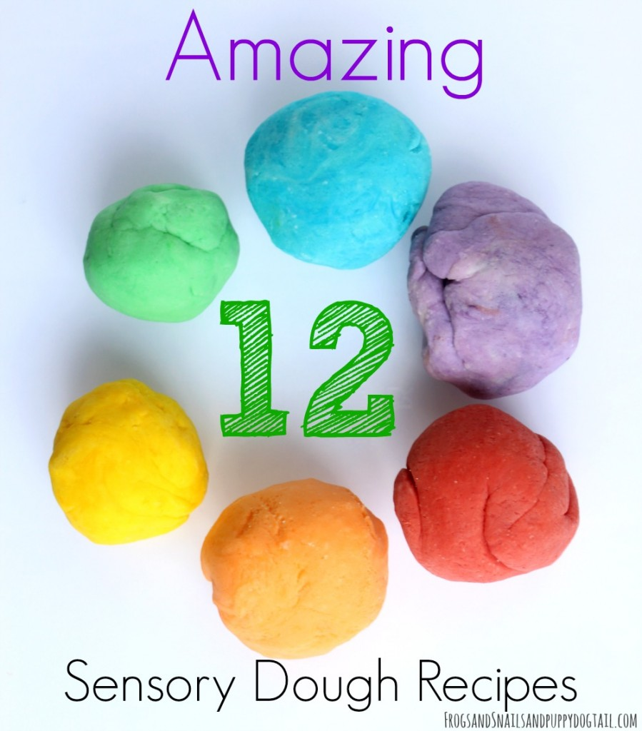 12 amazing sensory dough recipes for sensory play activities