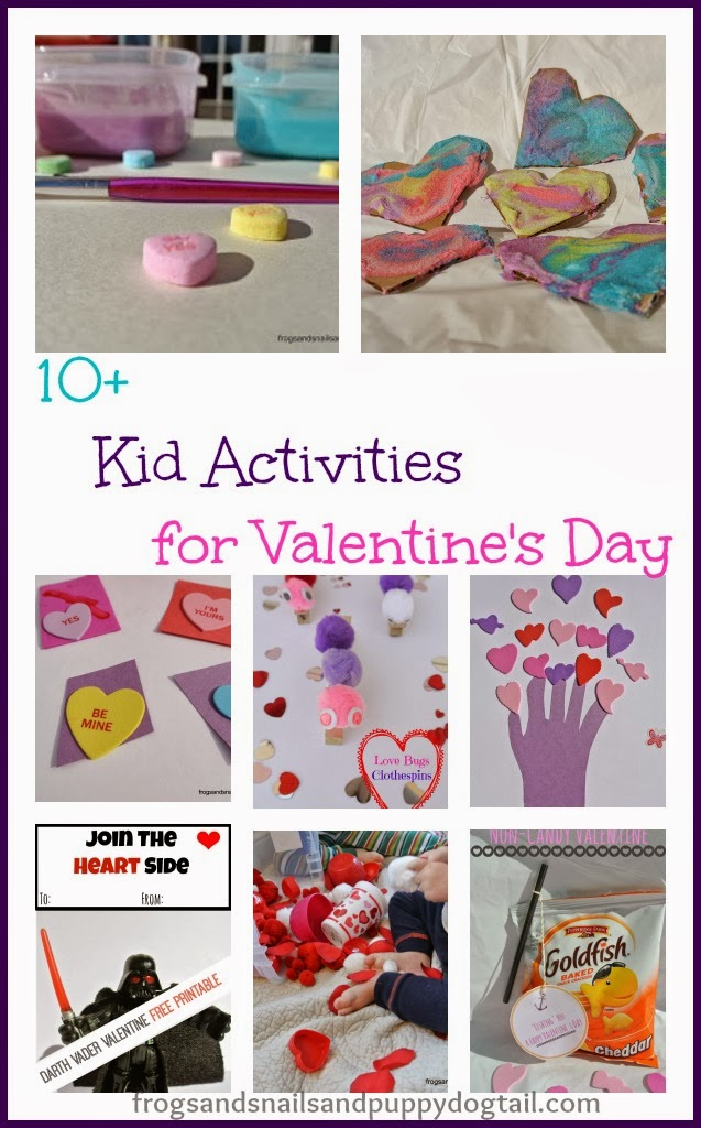 10+ Kid Activities for Valentine's Day