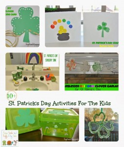 11 St. Patrick's Day Themed Kids Activities {we enjoyed as a family}