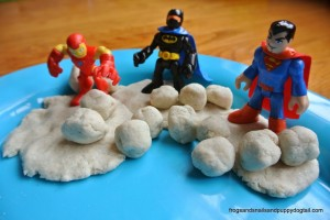 Superhero Snowball Fight by FSPDT