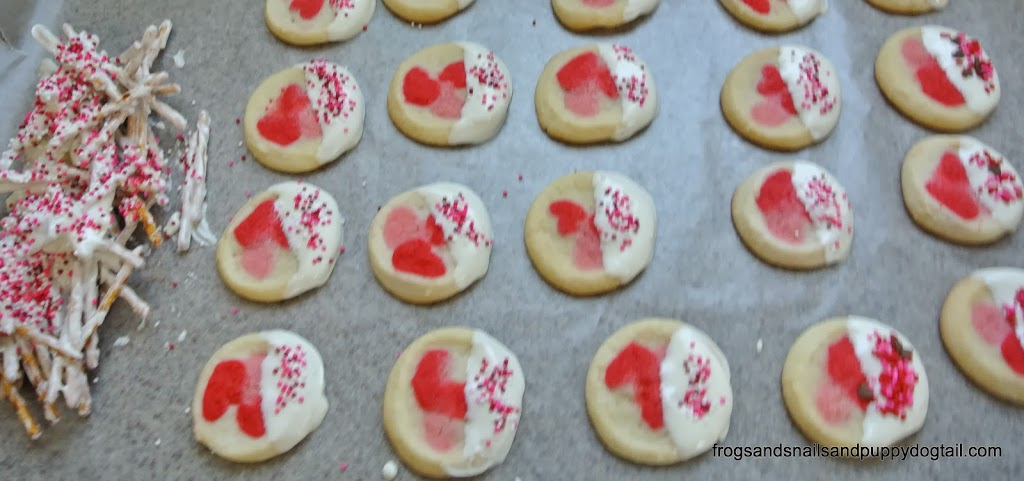 Valentine's Day Cookies for the Busy Mom
