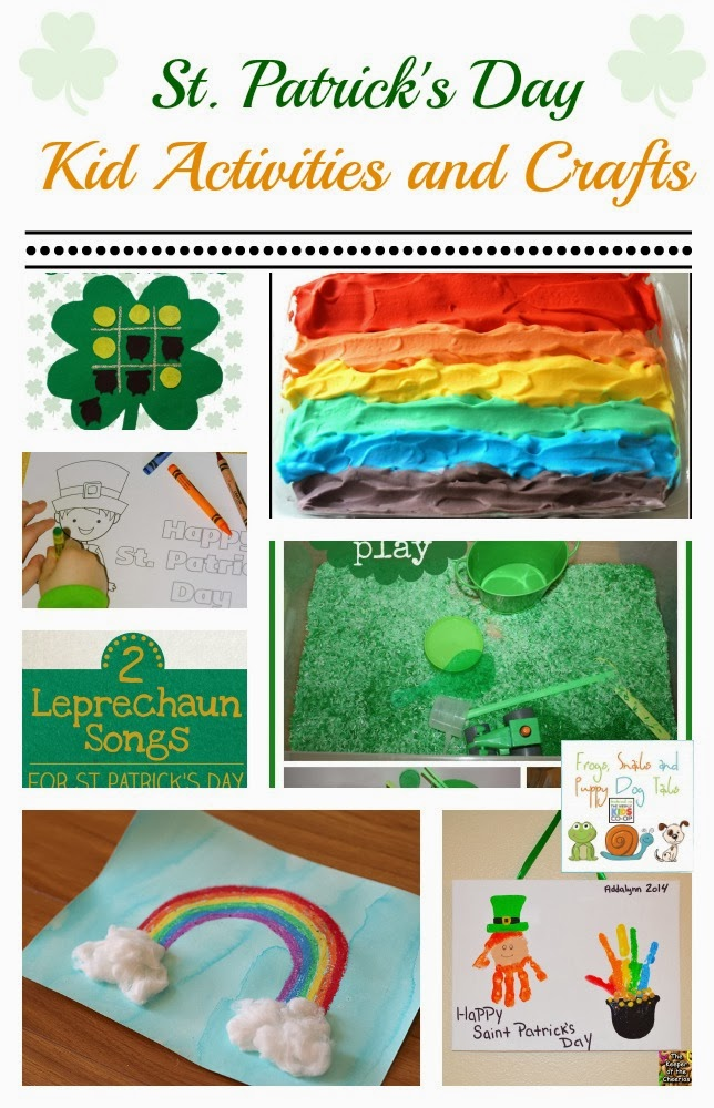 St. Patrick's Day Kid Activities and Crafts
