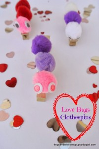 Love Bugs Craft for Kids