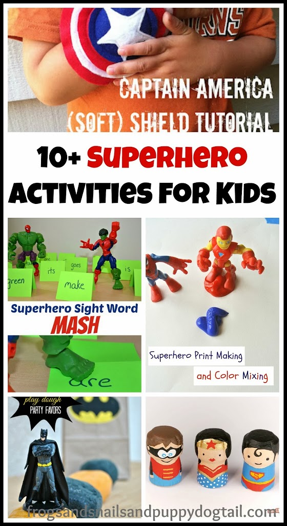 10+ Superhero Activities for Kids