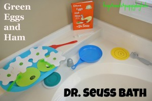 Dr Seuss bath activity