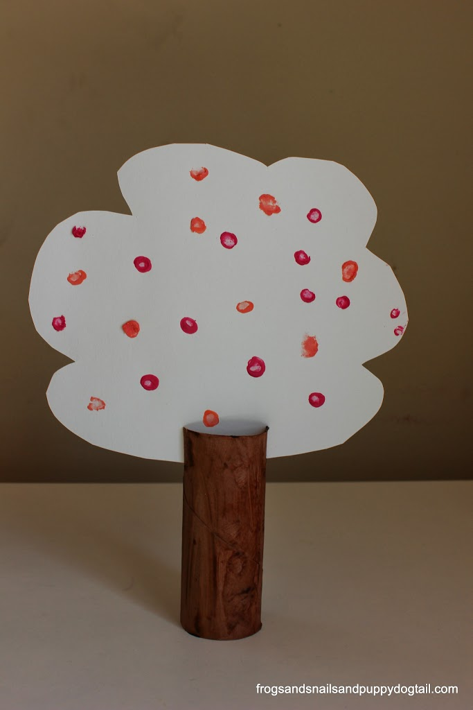 Cherry Blossom Tree Craft for Kids