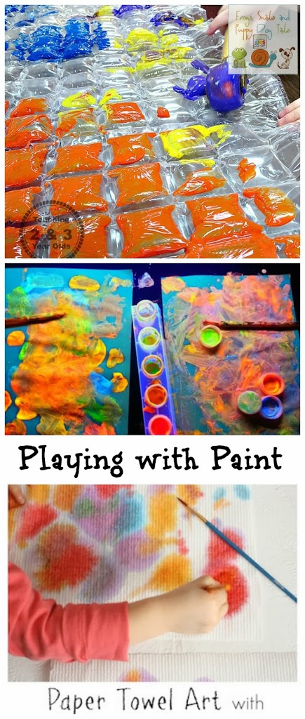 Playing with Paint~Art Activities for Kids {the kids co-op 3-13}