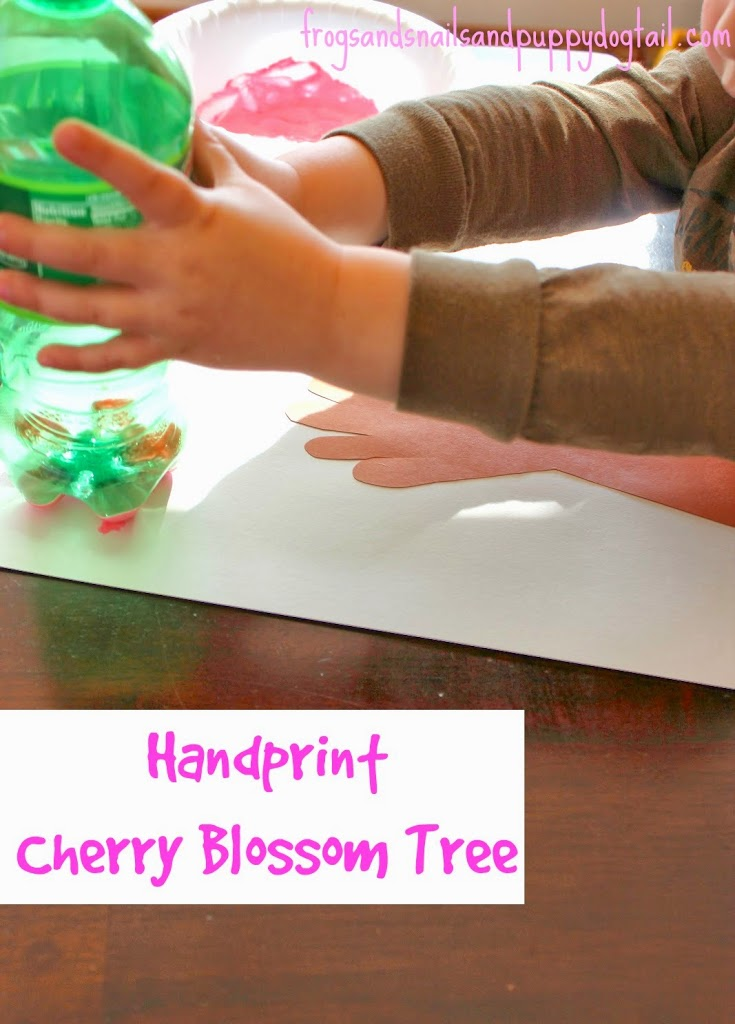 Handprint  Cherry Blossom Tree