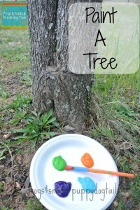 Finding Something New To Paint- A TREE