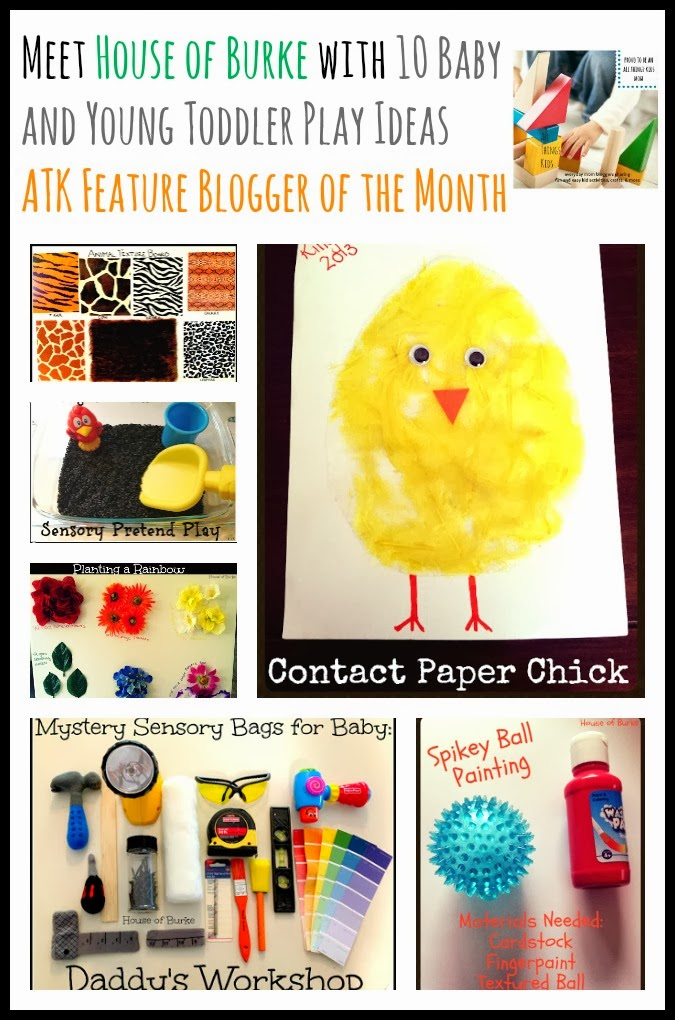 Meet House of Burke with 10 Baby and Young Toddler Play Ideas~ ATK Feature Blogger of the Month