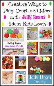 Creative Ways to Play, Craft, and More with Jelly Beans {Ideas Kids Love}