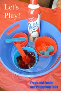 Jello Excitement(sensory activity for the kids):