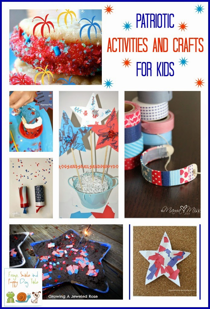Patriotic Activities and Crafts for Kids