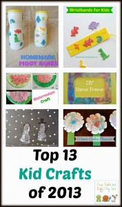 Top 13 Kid Crafts of 2013 by FSPDT