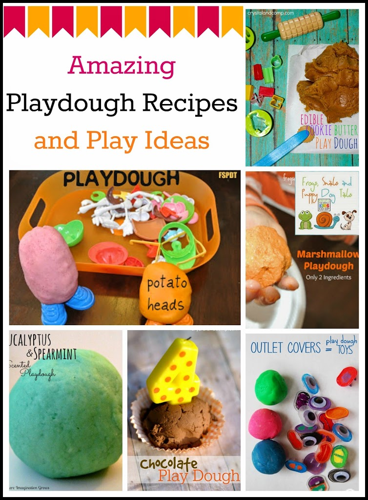 Amazing Playdough Recipes and Play Ideas {the kids co-op 5-8}