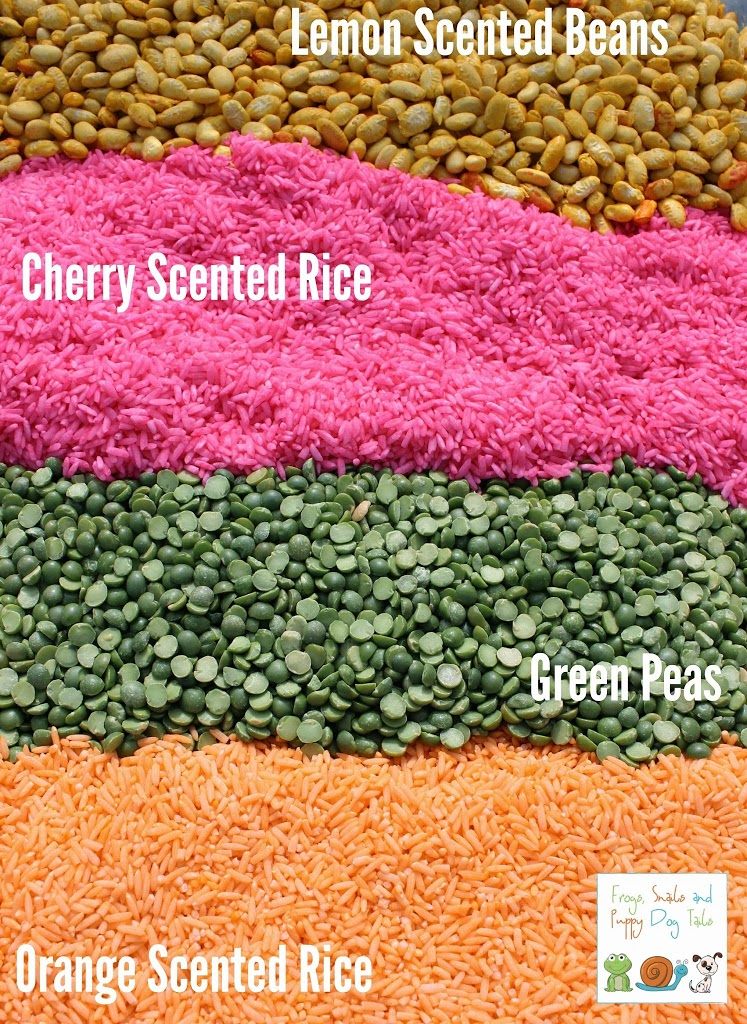 how to color rice and beans