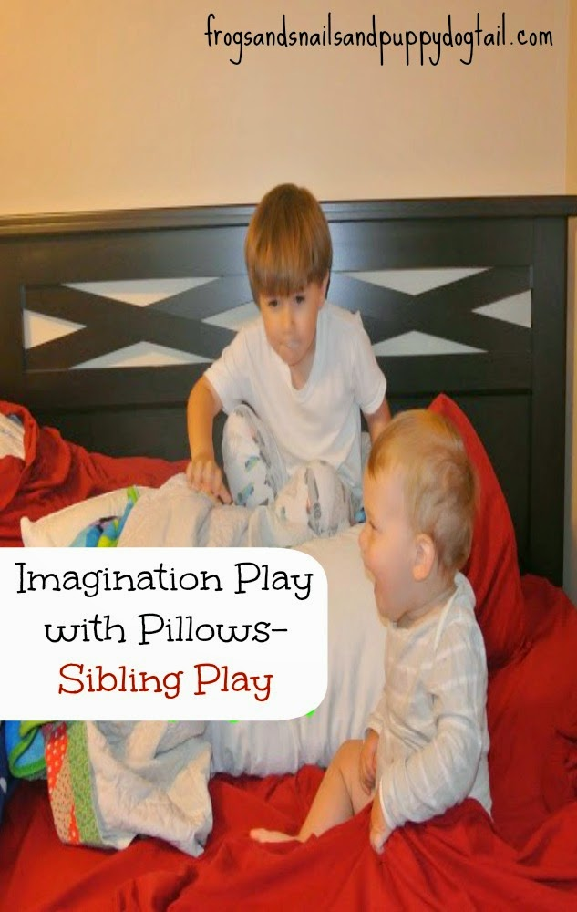 Imagination Play with Pillows- Sibling Play