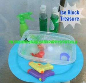 Ice Block Treasure- Fun Activity For Kids