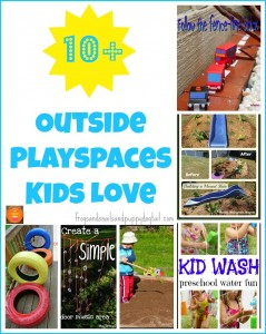 10+ outside playspaces kids love