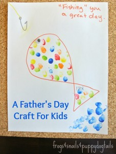 Fish Craft For Dad