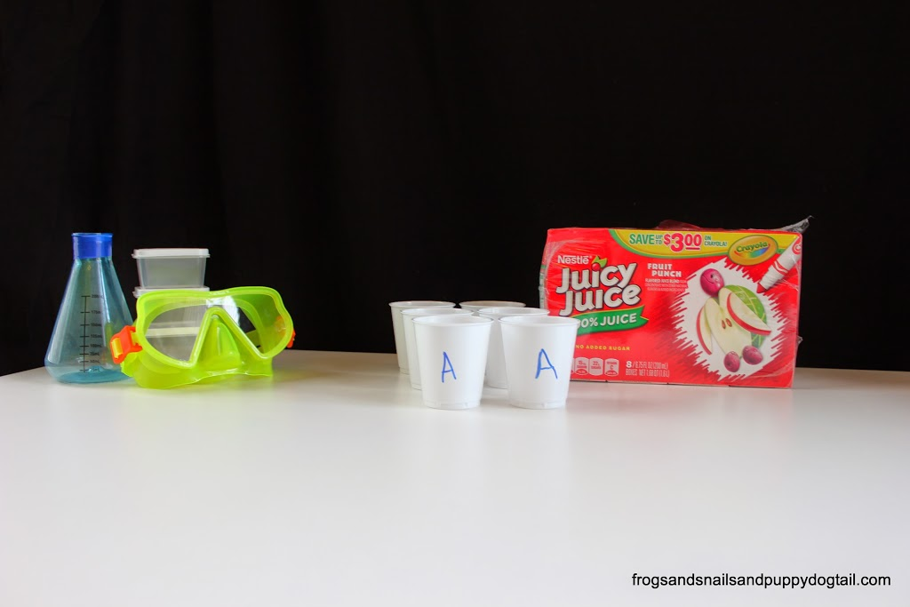Juicy Juice Science Experiment Playdate