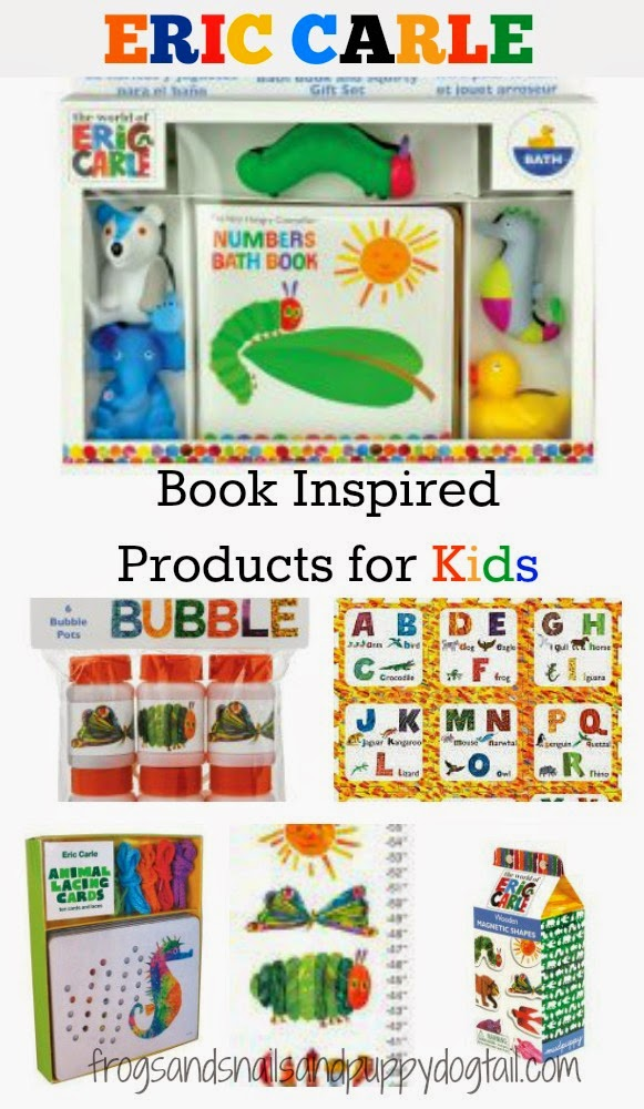 Eric Carle Book Inspired Products for Kids- gift guide