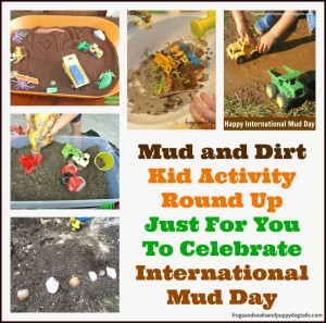 It's All About MUD Today! { A collection of mud play activities and alternatives to outside dirt for mud}