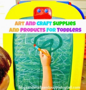 Art and Craft Supplies and Products for Toddlers