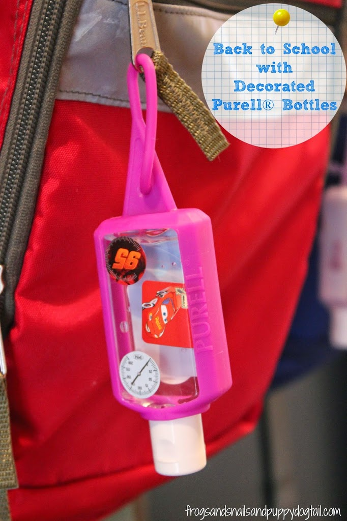 Back to School with Decorated Purell® Bottles #PURELL30 #ad