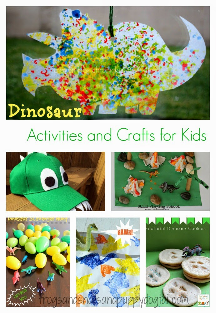 Dinosaur Activities and Crafts for Kids