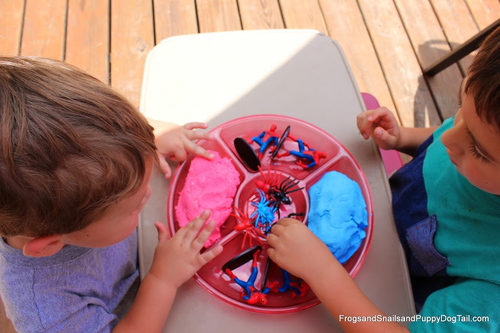 Spider-Man Foam Dough Play Activity