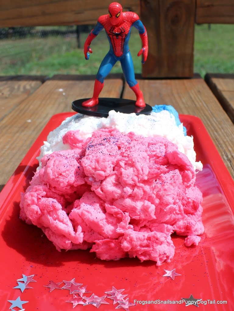 Red, White, and Blue Clean Mud~ NO Ivory Soap