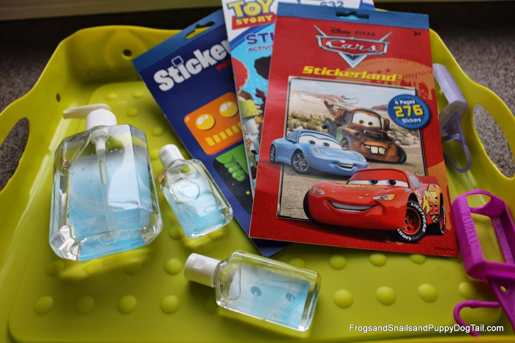 Back to School with Decorated Purell® Bottles for the Kids