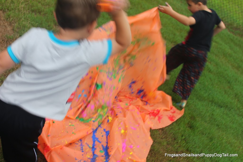 Getting Clothes Clean After Messy Play and Eating