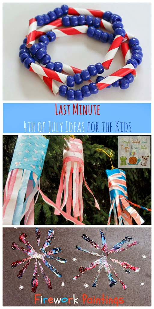 Last Minute  4th of July Ideas for the Kids