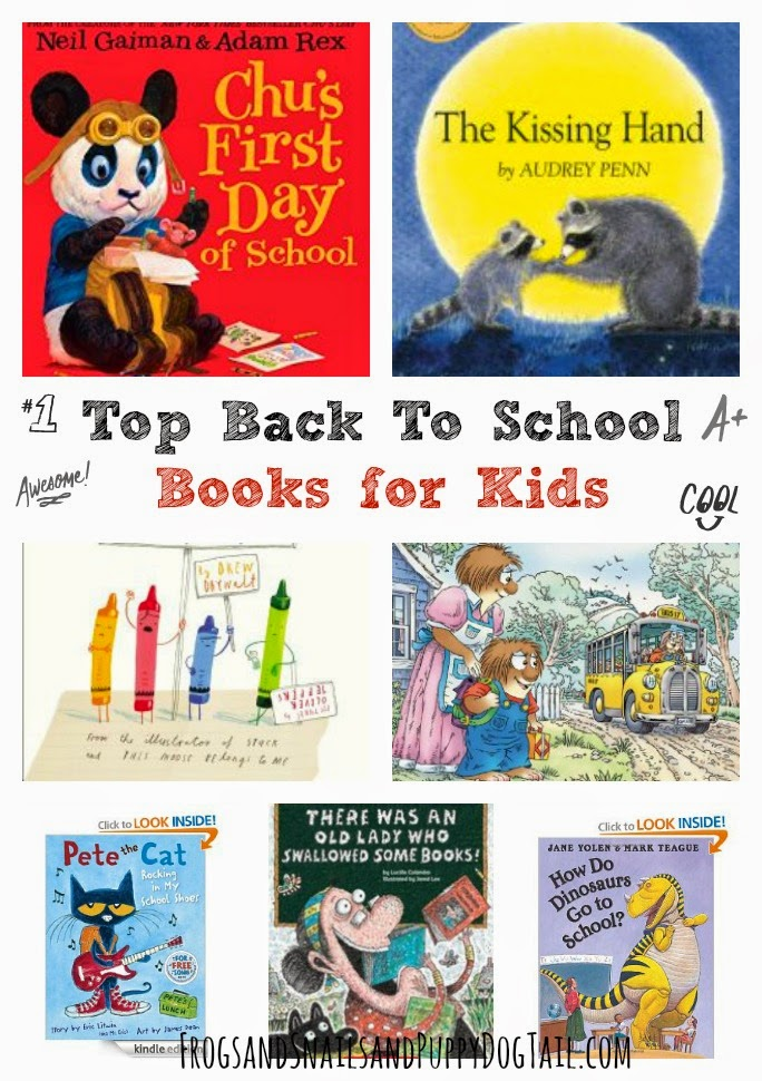Top Back To School Books for Kids