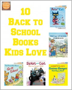 10 Back To School Books Kids Love