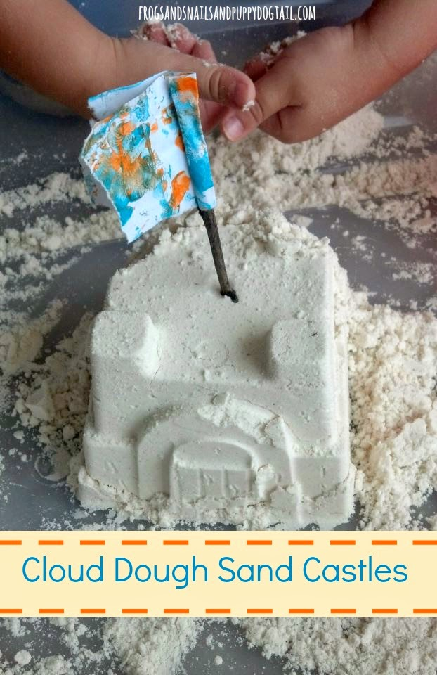 Cloud Dough Sand Castles