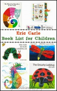 Eric Carle Book List for Children