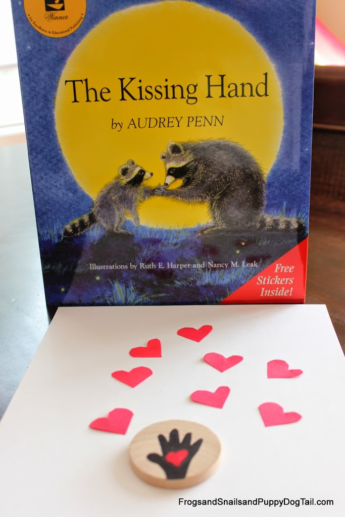 Kissing Hand Book Craft