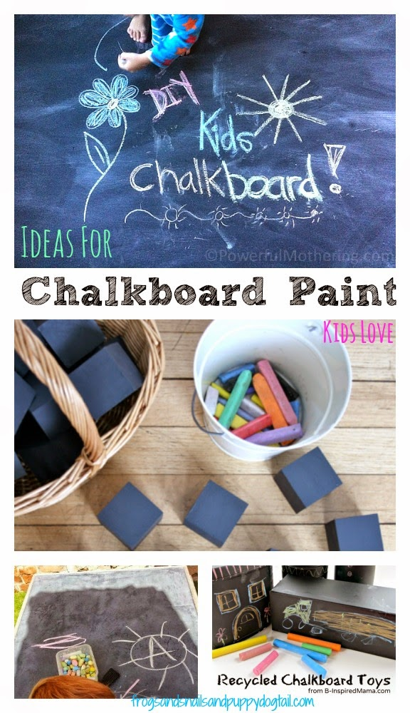 10+ Ideas For Chalkboard Paint Kids Love