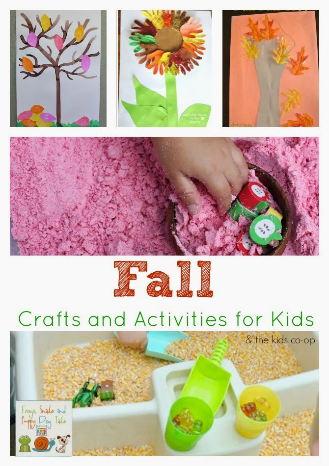 Fall Crafts and Activities for Kids {kids co-op 8-28)