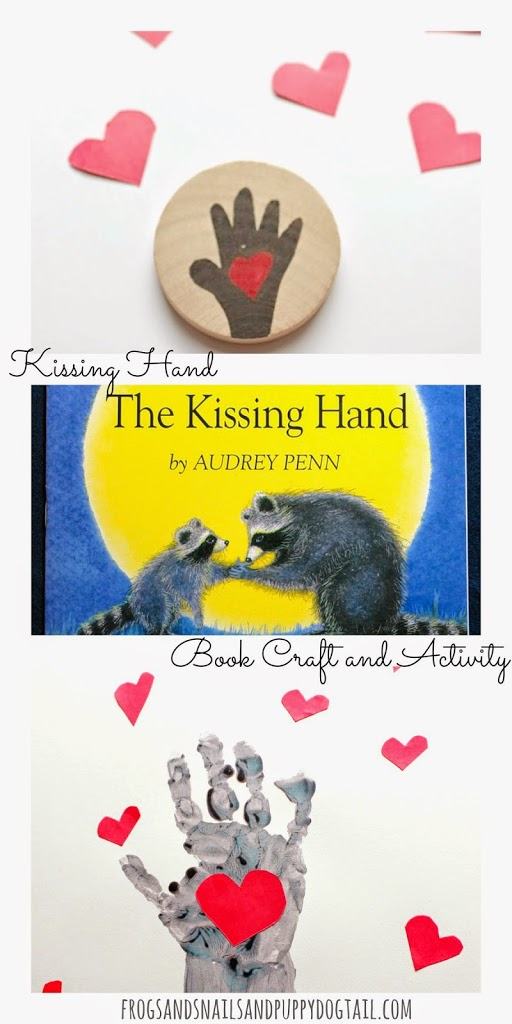 Kissing Hand Book Craft and Activity