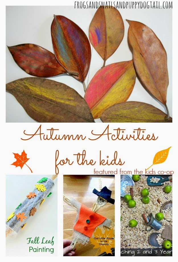 Autumn Activities for the kids and the kids co-op by FSPDT