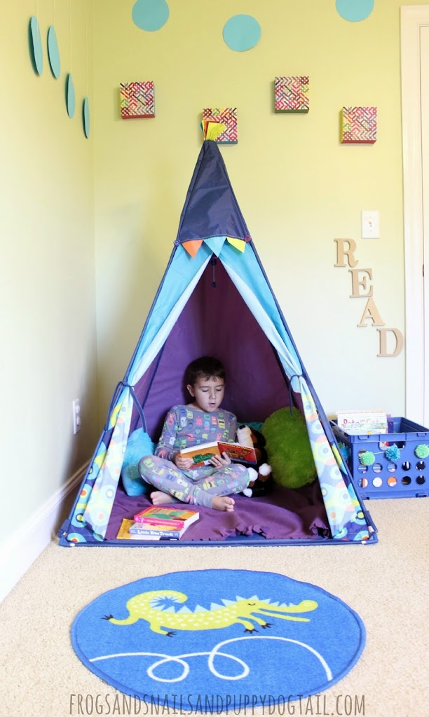 DIY Reading Book Nook or Quiet Place